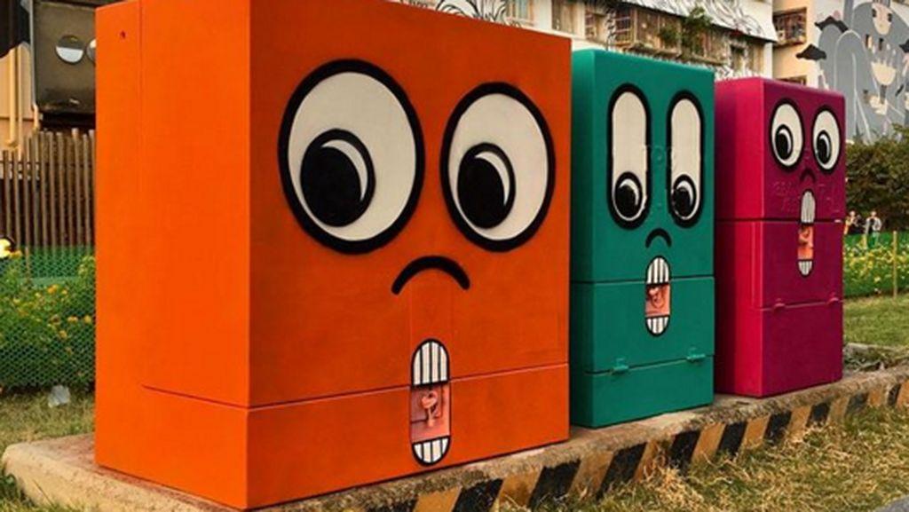 Seniman Ini Ubah Jalanan Biasa Jadi Terlihat Keren