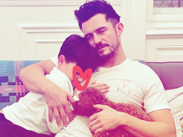 Orlando Bloom dan Anak
