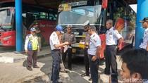 356 Bus AKAP dan AKDP di Terminal Rajewesi Siap Antar Pemudik