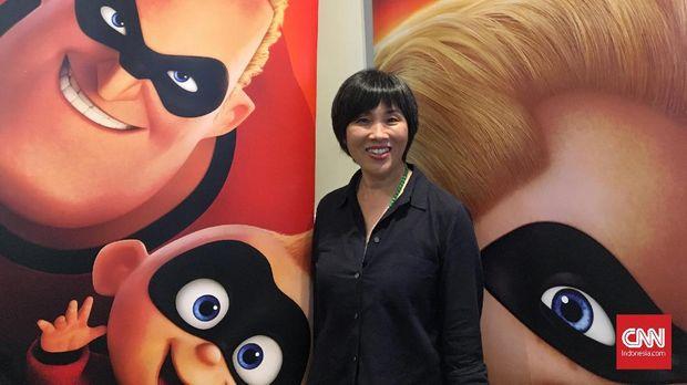 Direktur Shading Art Pixar Animation Studios Bryn Imagire.