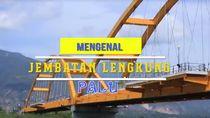 Mengenal Jembatan Lengkung Palu