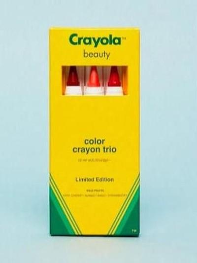 Crayola Rilis Makeup Berbentuk Krayon Foto: Dok. Crayola
