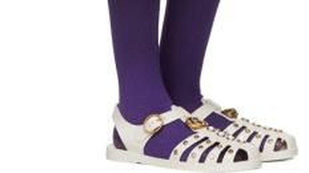 Mirip Sandal Karet Rp 70 Ribu, Sepatu Gucci Rp 9 Juta Ini Diejek Netizen