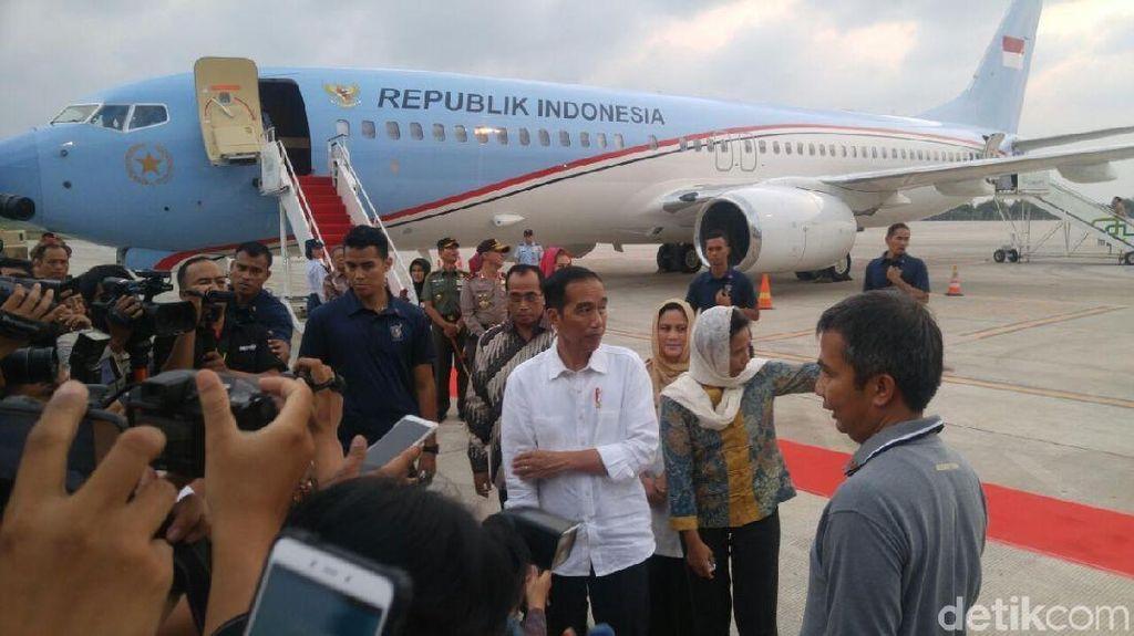 Resmikan Terminal Baru Bandara Semarang, Jokowi Kaget