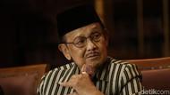 BJ Habibie Berbagi Ilmu Hidup Produktif Tanpa Korupsi ke Polri