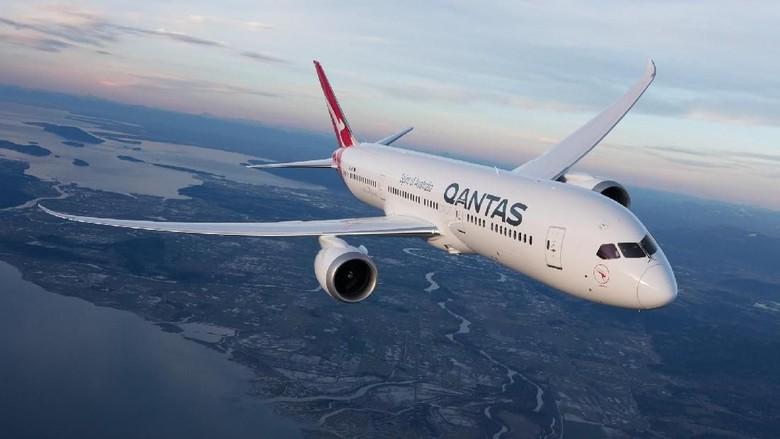 Pesawat Boeing 787 milik Qantas (Dok. Qantas)