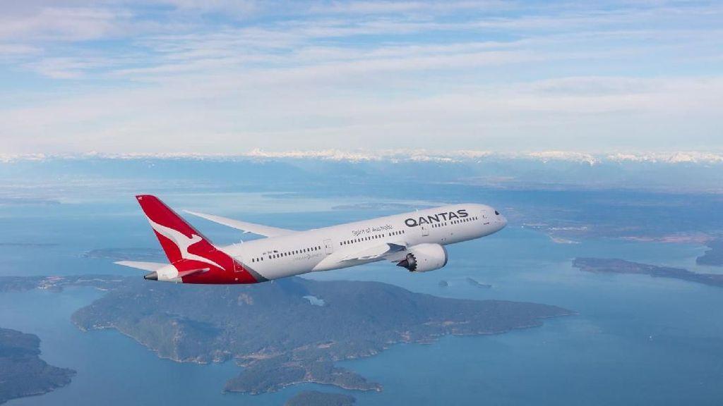 Rindu Terbang? Qantas Tawarkan Penerbangan Wisata Keliling Australia