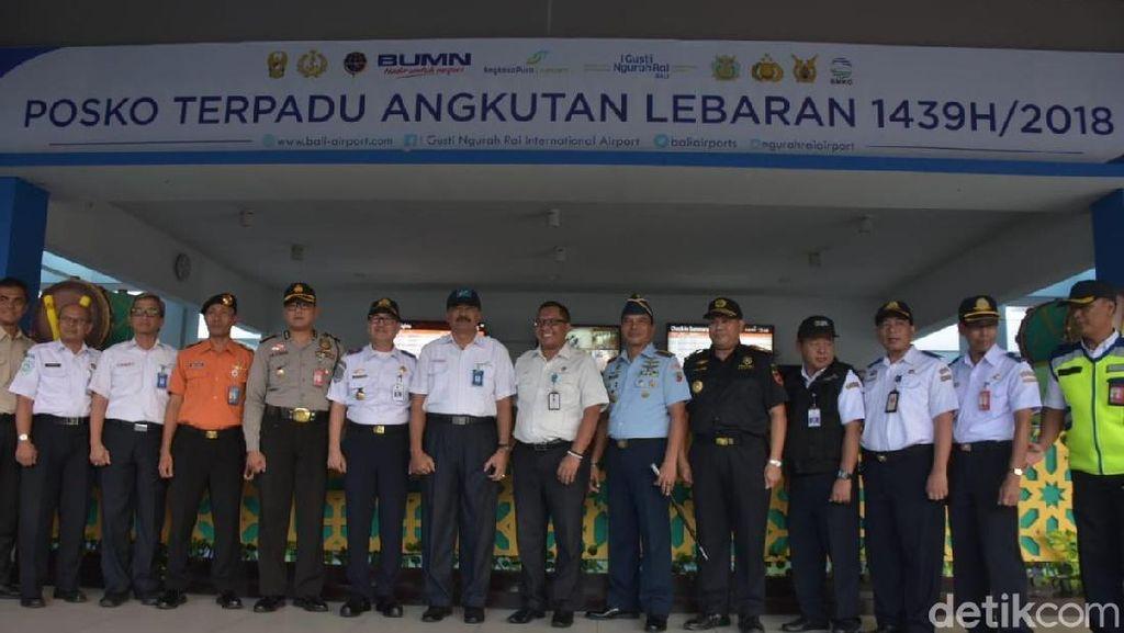 Jamin Keamanan Pemudik, Posko Lebaran 2018 Dibuka di Bandara Ngurah Rai