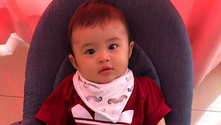 Gemes! Lucunya Raphael Moeis, Putra Sandra Dewi