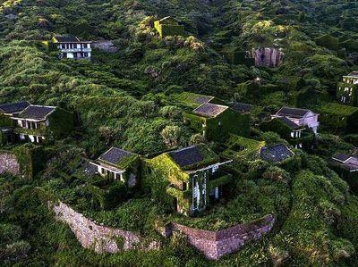 Foto: Desa Cantik di China yang Ditinggalkan Penduduknya
