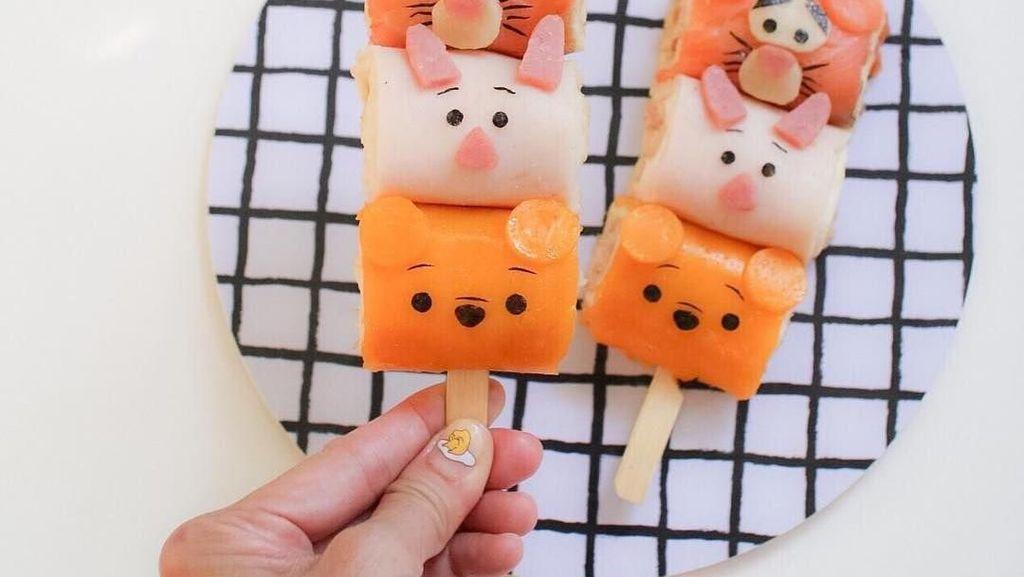 Lucunya! 10 Makanan Ini Dibuat Bentuk Tsum Tsum Disney yang Menggemaskan