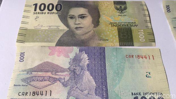 Ini Penampakan Uang Rp 1.000 Gambar Cut Meutia yang Langka