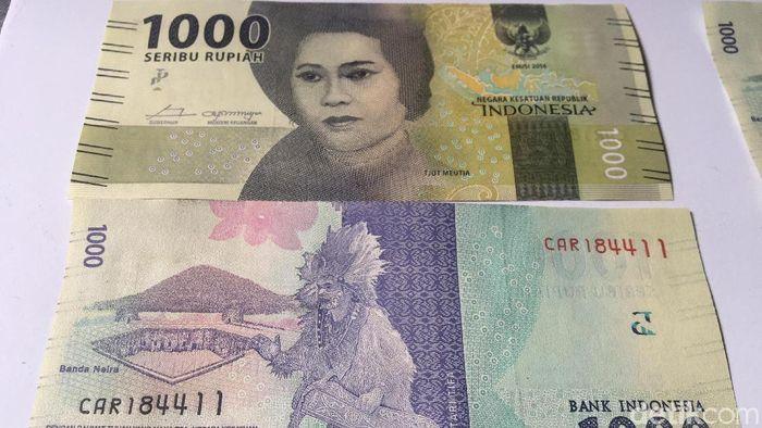 Uang Kertas Rp 1.000 Langka