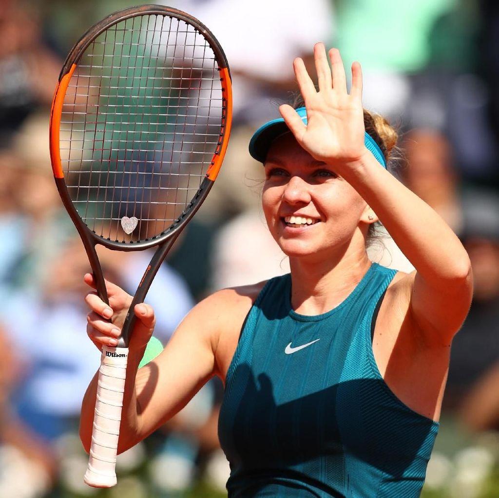 Simona Halep Ditantang Sloane Stephens di Final