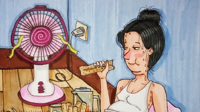 Potret Perubahan Ibu Saat Hamil, Mana yang Bunda Banget?