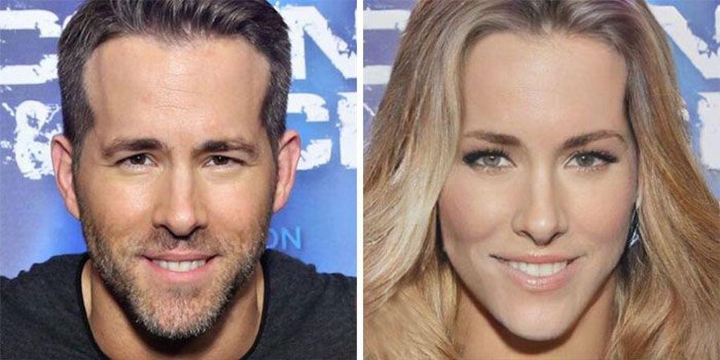 Ryan Reynolds berperan sebagai karakter Deadpoolversi wanita.(Foto: Boredpanda)
