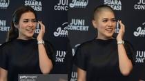 Begini Penampilan Artis Indonesia Jika Botak, Tetap Cantik atau Kocak?