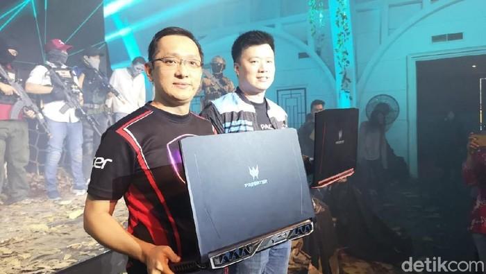Laptop gaming Acer. Foto: Muhammad Alif Goenawan/detikINET