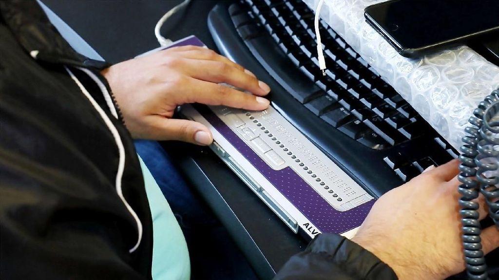 Tiga Raksasa Teknologi Kembangkan Standar Baru Display Braille