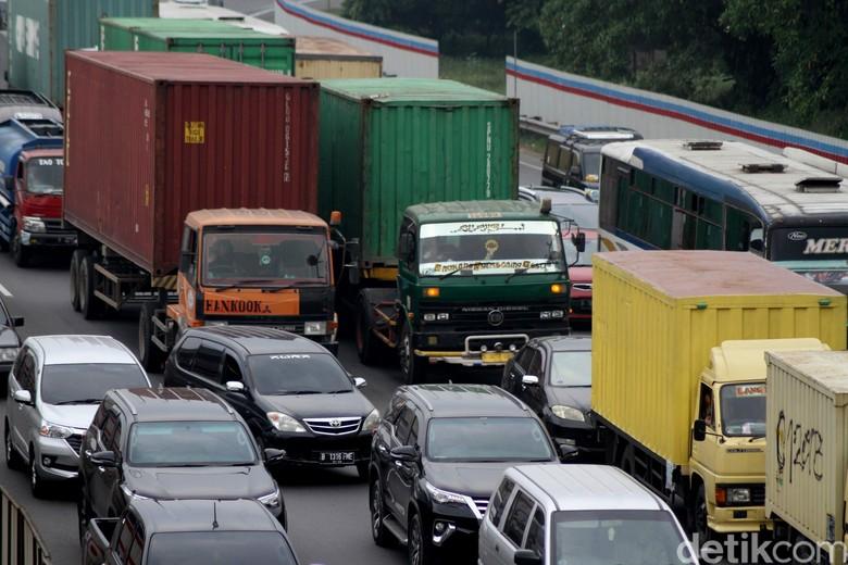 Kemacetan saat mudik Foto: Rifkianto Nugroho