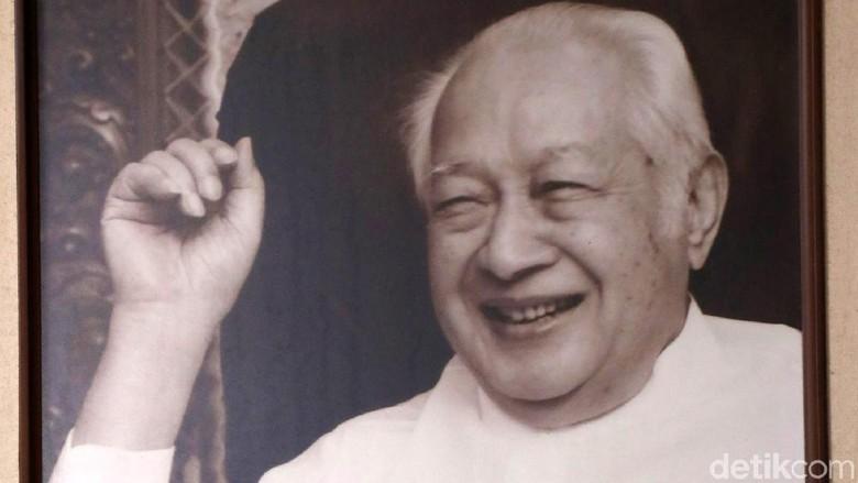 Almarhum Soeharto, presiden kedua RI (Grandyos Zafna/detikTravel)