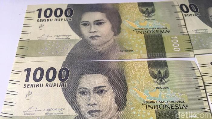 Uang pecahan Rp 1.000 Gambar Cut Meutia