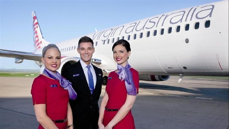 Ilustrasi Virgin Australian (Virgin Australi)