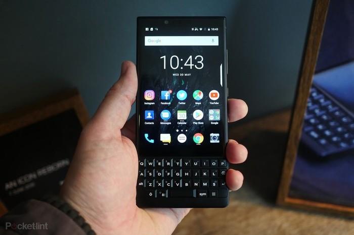 BlackBerry Key2. Foto: Istimewa