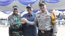 3 Pilar Kabupaten Malang Gelar Apel Kesiapan Pilkada Serentak 2018