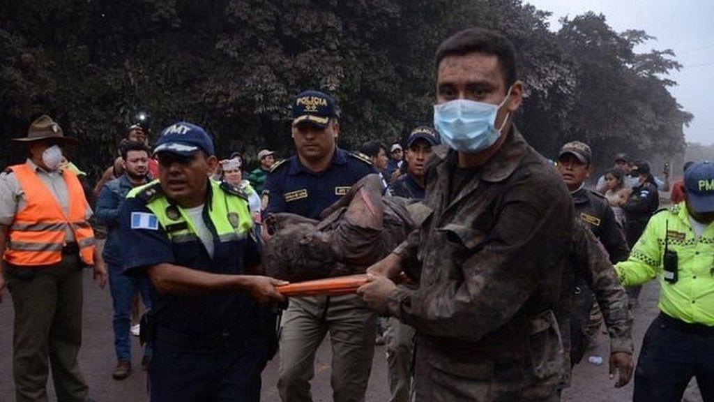 Memilukan! Desa Ini Terhapus dari Peta Usai Letusan Gunung Fuego