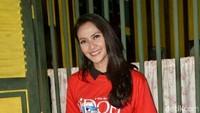 Maudy Koesnaedi saat ditemui di kawasan Lebak Bulus, Jakarta Selatan pada Kamis (7/6). Pool/Ismail/detikFoto.