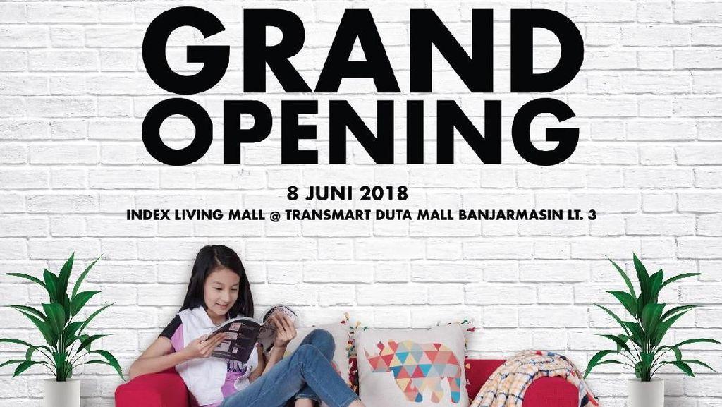 Index Living Mall Hadir di Transmart Banjarmasin, Ini Promonya