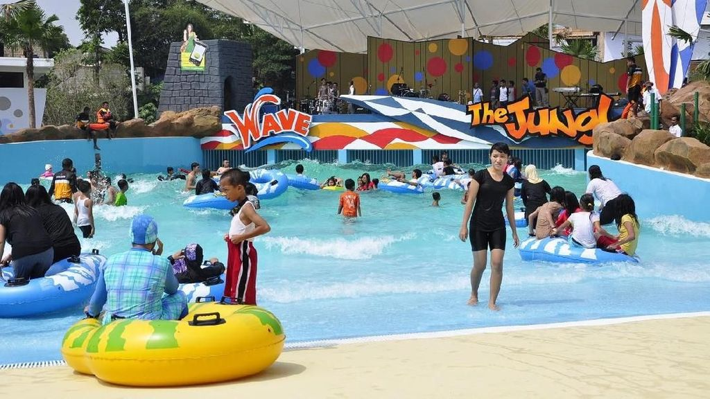Lebaran Seru di The Jungle Waterpark & JungleFest Bogor
