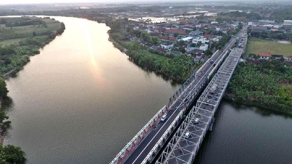 Alhamdulillah, Jembatan Babat yang Sempat Putus Kini Tersambung