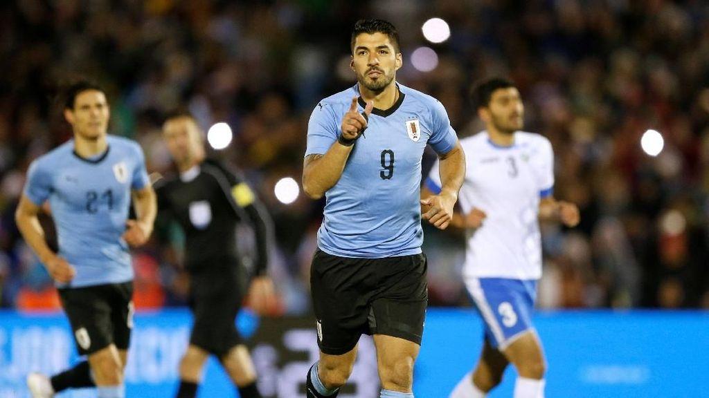 Uruguay Hantam Uzbekistan Tiga Gol Tanpa Balas