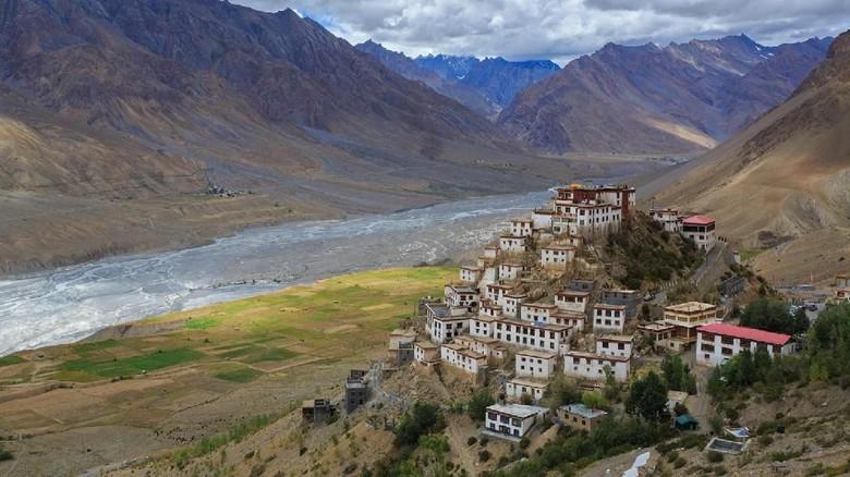 Foto: Spiti, wilayah terpencil di sepanjang Sungai Himalaya, India (Sandipan Dutta/BBC Travel)