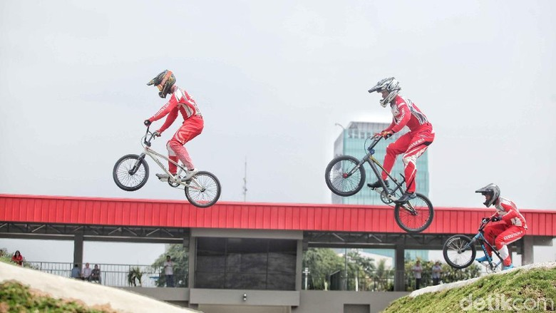 Pemanasan Asian Games 2018, Timnas BMX  Turun di Kejuaraan Banyuwangi