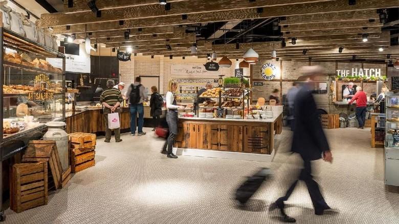 Ilustrasi toko di bandara (Dublin Airport)