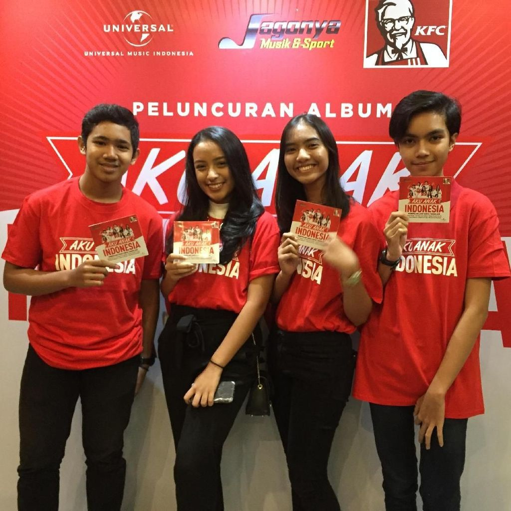 Pesan Nasionalisme di Album The Voice Kids Indonesia