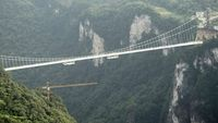 Jembatan Kaca Grand Canyon Zhangjiajie (CNN Travel)