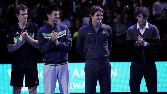 Big four tenis putra di ATP Finals 2010. (Foto: Clive Brunskill/Getty Images)