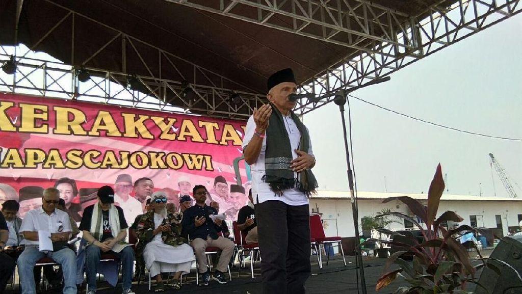 Sindir Jokowi Lagi, Amien Rais: Minyak, Gas, Kayu untuk Asing