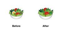 Google Hilangkan Telur Rebus dalam Emoji Salad, Kenapa Ya?