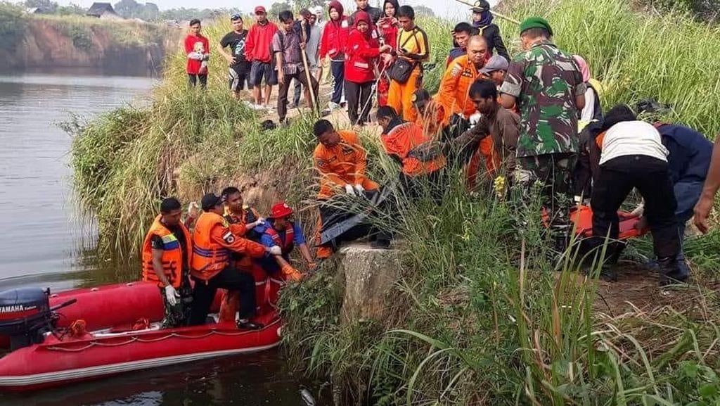 Warga Cilegon yang Tenggelam Bersama Motornya Ditemukan Tewas