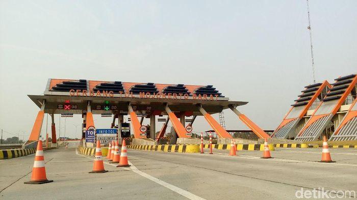 Tol Jombang-Mojokerto/Foto: Enggran Eko Budianto/detikcom