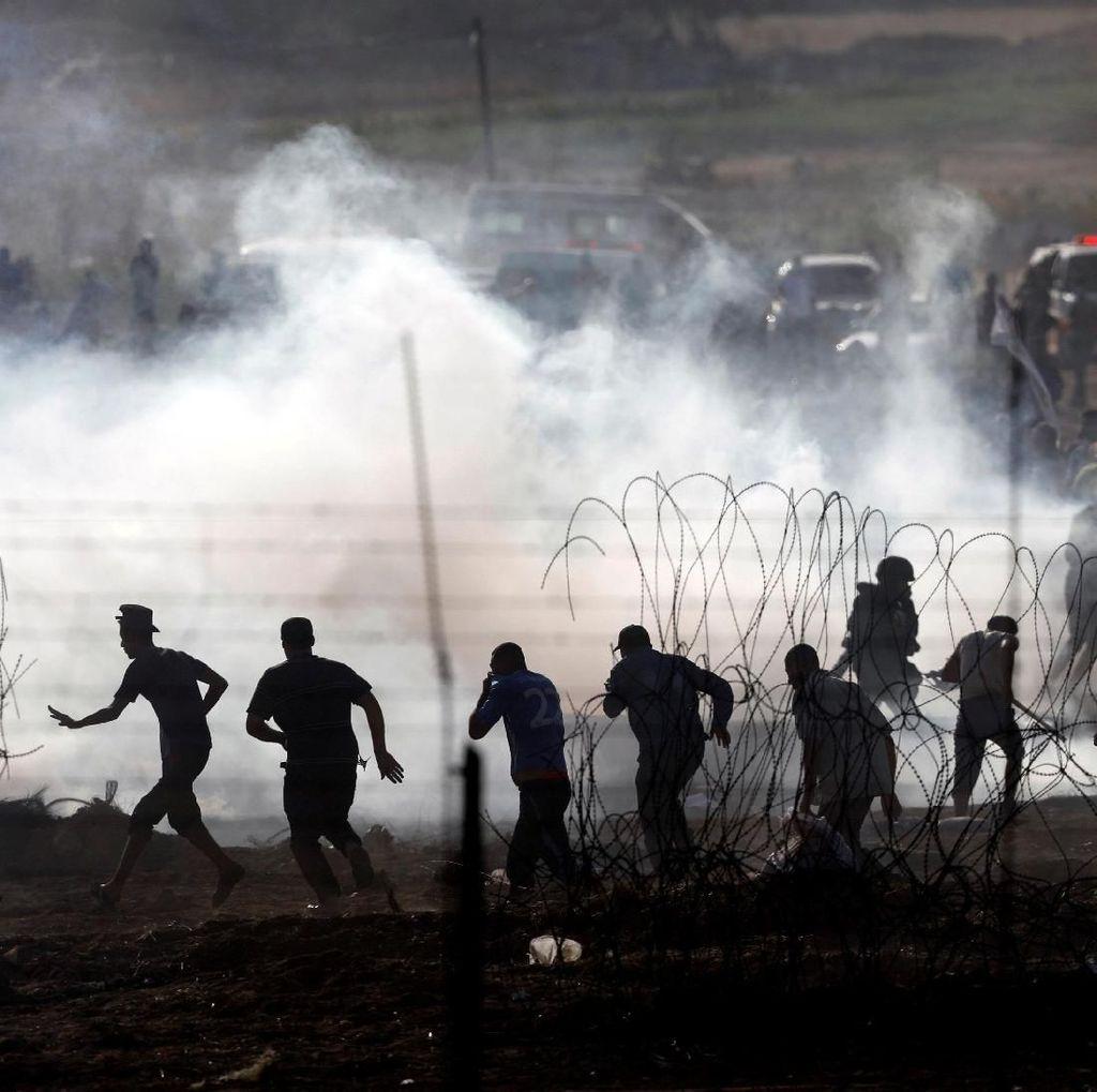 Usai Diserang Roket, Israel Bombardir 25 Target Hamas di Gaza