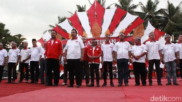 Pelantikan pengurus DPC TMP se-Jawa Tengah.