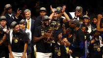 Kalahkan Cavaliers, Warriors Pertahankan Gelar Juara NBA