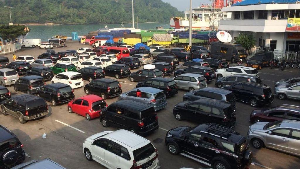 H-6 Lebaran, 44 Ribu Penumpang Mudik ke Sumatera via Merak