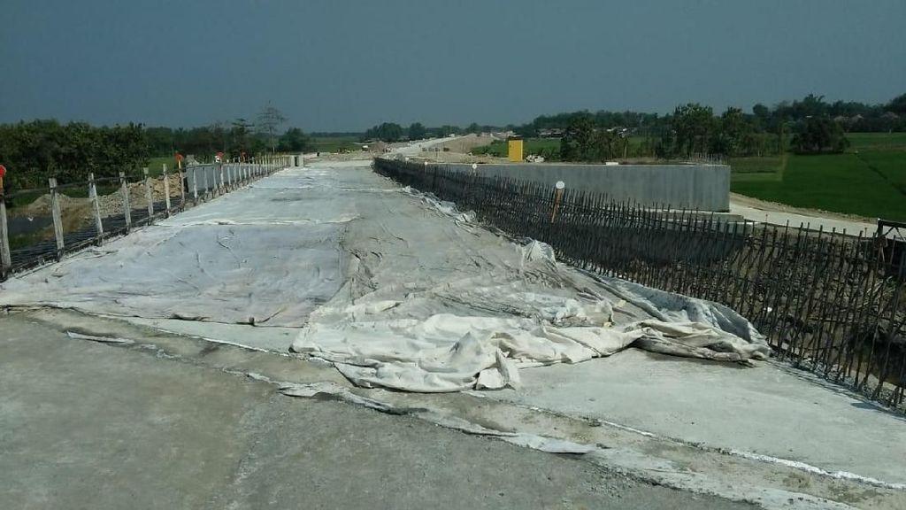 Jembatan Antar Tol di Jombang Baru Bisa Dilewati H-5 Lebaran